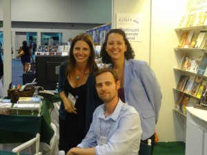 Ransom Riggs signing Miss Peregrine's Home for Peculiar Children