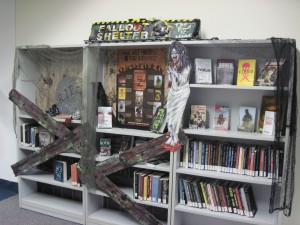 Florida International University Libraries-Miami, FL-Valerie Boulos-Zombie Display