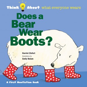 does a bear wear boots -small