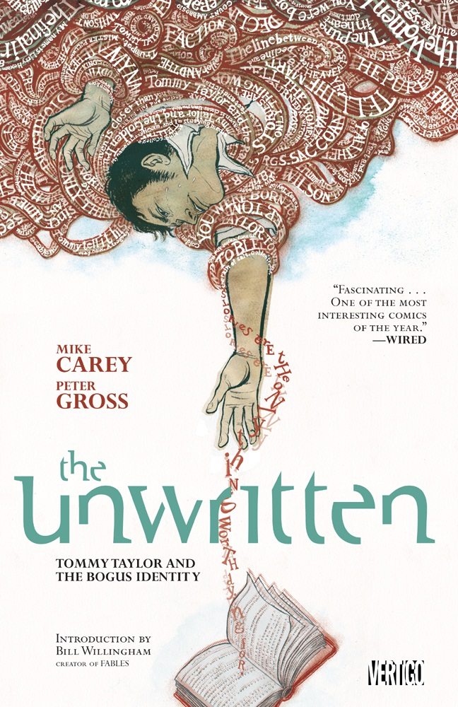 Unwritten Vol. 1: Tommy Taylor and the Bogus Identity ISBN 9781401225650