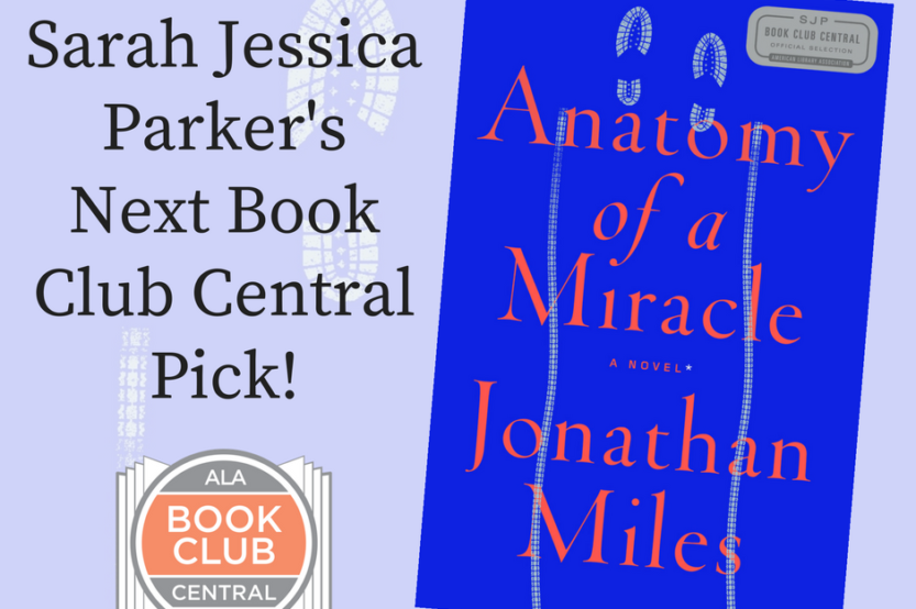 Announcing Sarah Jessica Parkers Next Book Club Central Pick