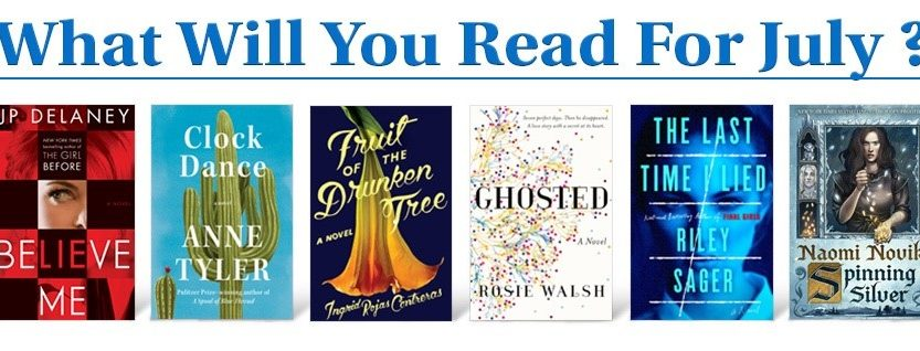What Will You Read For July 2018 Penguin Random House Library