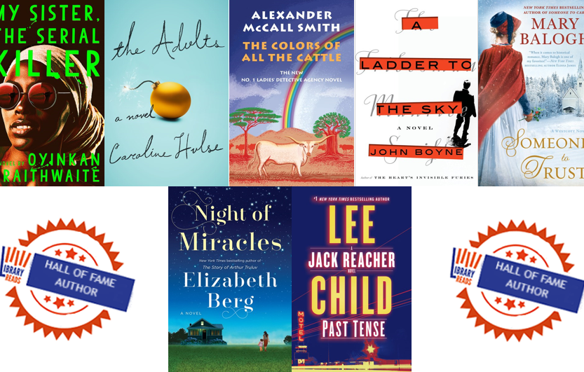 November 2018 Libraryreads List Announced Penguin Random House